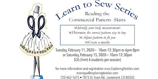 Learn to Sew Series- Part 4 of 4