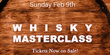 Whisky Masterclass at Tocador tickets