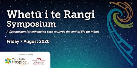 Whetū  i te Rangi Symposium tickets
