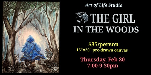 Paint Night: The Girl in the Woods