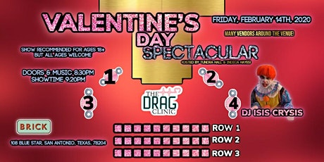 The Drag Clinic: Valentine's Day Spectacular! billets