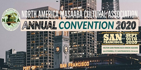NORTH AMERICA MASAABA CULTURAL ASSOCIATION CONVENTION 2020 tickets