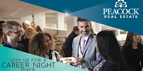 Peacock Real Estate Career Night Mixer tickets