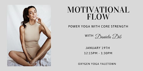 Motivational Flow: Power Yoga with Core Strength tickets