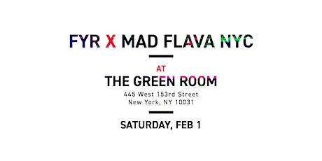 FYR x Mad Flava NYC tickets