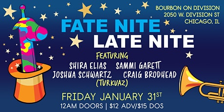 Fate Nite featuring members of Turkuaz tickets