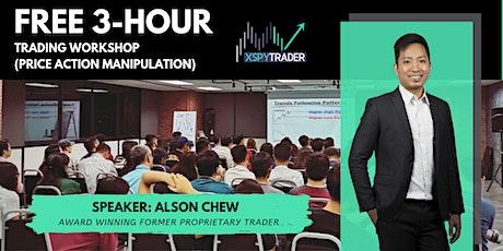 XSPYTrader™ 3-Hour Trading Workshop (Price Action Manipulation) tickets