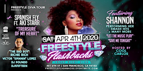 Freestyle Flashbacks Live With Shannon tickets