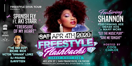 Freestyle Flashbacks Live With Shannon