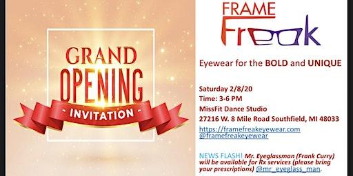 Frame Freak Eyewear Grand Opening PopUp