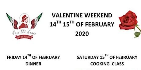 Valentine Cooking Class tickets