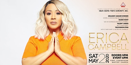 NMACDST Presents ERICA CAMPBELL tickets