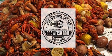 Jordan Powers Memorial Crawfish Boil tickets