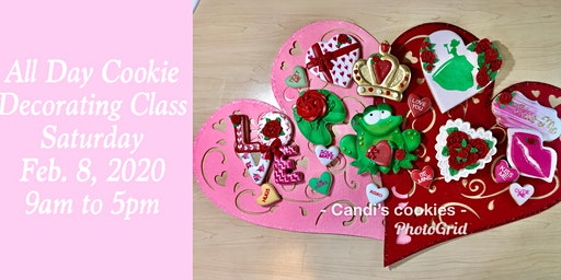 Fairy Tales Come True  at the Princess & the Frog Valentine Cookie Class