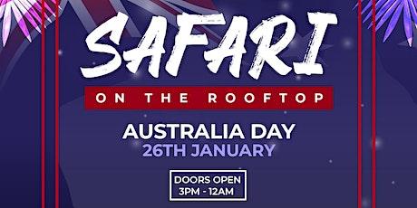 Safari On The Rooftop   Australia Day tickets