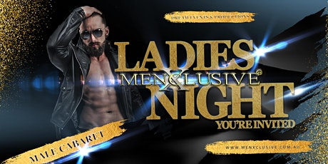 MenXclusive You're Invited - Melbourne 18 APR tickets