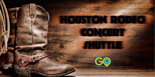 Cody Johnson Concert Houston Rodeo Private Shuttle