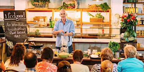 NOOSA QLD - PLANT-BASED TALK & COOKING CLASS WITH CHEF ADAM GUTHRIE tickets