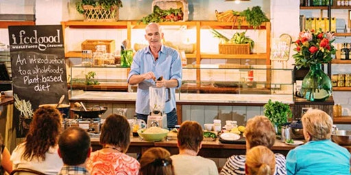 NOOSA QLD - PLANT-BASED TALK & COOKING CLASS WITH CHEF ADAM GUTHRIE