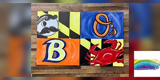 2for1 Baltimore Canvas: Glen Burnie, Noel Smith BJJ with Artist Katie Detrich!