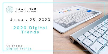 Chicago Together Digital: 2020 Digital Marketing Trends tickets
