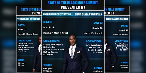 State of the Black Male Summit: Meet & Greet