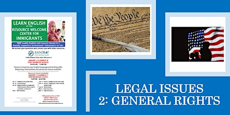 Legal Issues: General Rights tickets