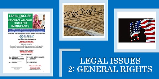 Legal Issues: General Rights
