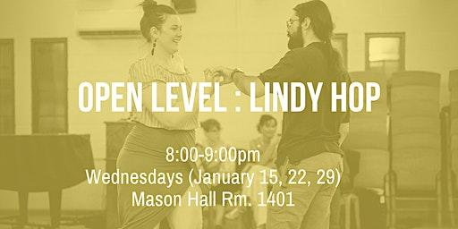 Open Level: Lindy Hop!