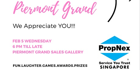 "Propnex Piermont Grand ""We Appreciate You"" Party tickets"