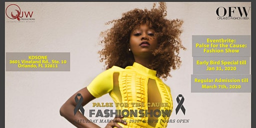Palse for the Cause: Fashion Show