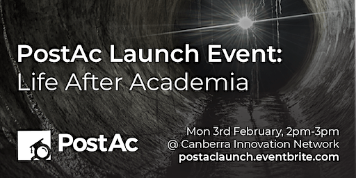 PostAc Launch Event: Life After Academia