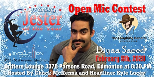 """No Snowflakes Allowed"" Comedy Show Starring Kyle Lucey with Diyaa Saeed"