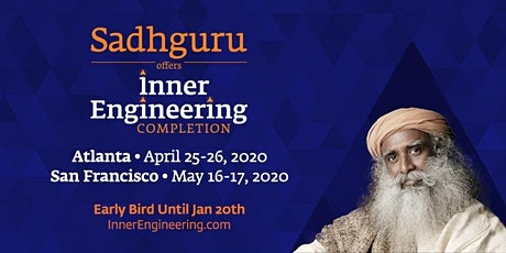 Inner Engineering Completion with Sadhguru tickets