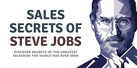 THE SALES SECRETS OF STEVE JOBS tickets
