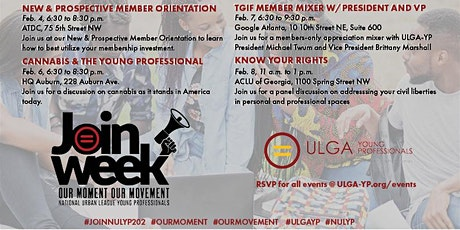 Join Week 2020: TGIF Member Mixer w/ President & VP tickets
