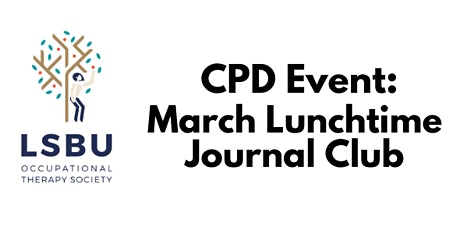 March Lunchtime Journal Club tickets