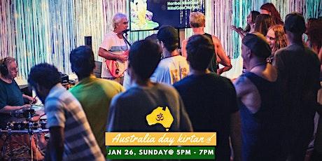 Australia Day Kirtan with Pralad & The Chants tickets