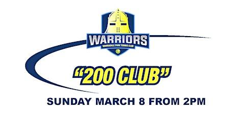 WPTC '200 Club' Fundraiser 2020 tickets