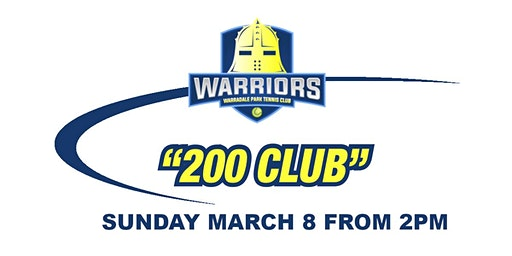 WPTC '200 Club' Fundraiser 2020