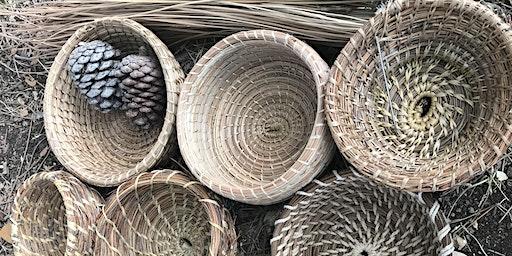Pine Needle Basket Making