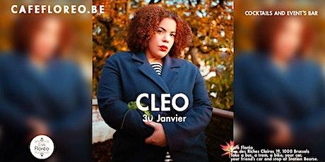 Cléo en concert au Café Floréo billets