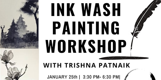 Ink Wash Painting Workshop with Trishna Patnaik