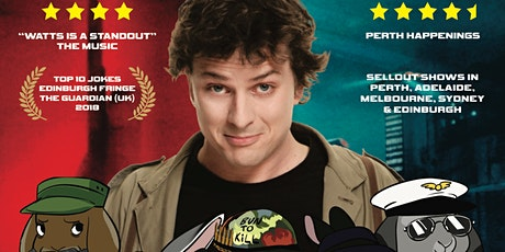 Jez Watts: Bun Runner 2020 at Perth Fringe World 2020 tickets