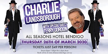 Charlie Landsborough tickets
