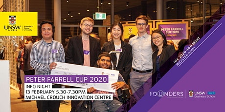 2020 Peter Farrell Cup Information Night tickets
