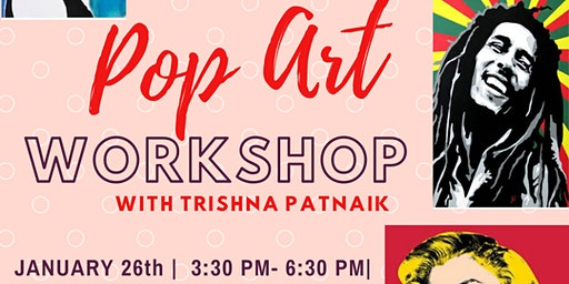 Pop Art Workshop with Trishna Patnaik
