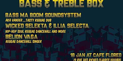 Bass & Treble Box Meet Bass ma Boom Soundsytem