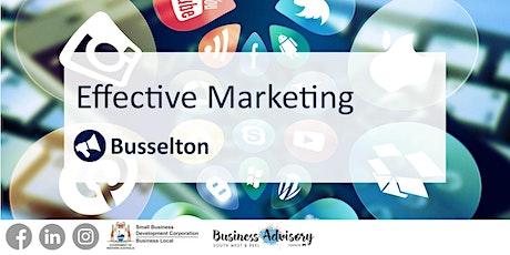 Effective Marketing tickets