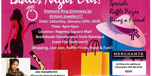 Ladies Night Out-Saturday, January 25th 4pm